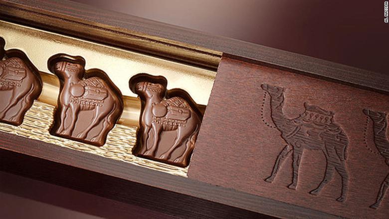 Best edible souvenirs camel-milk chocolate