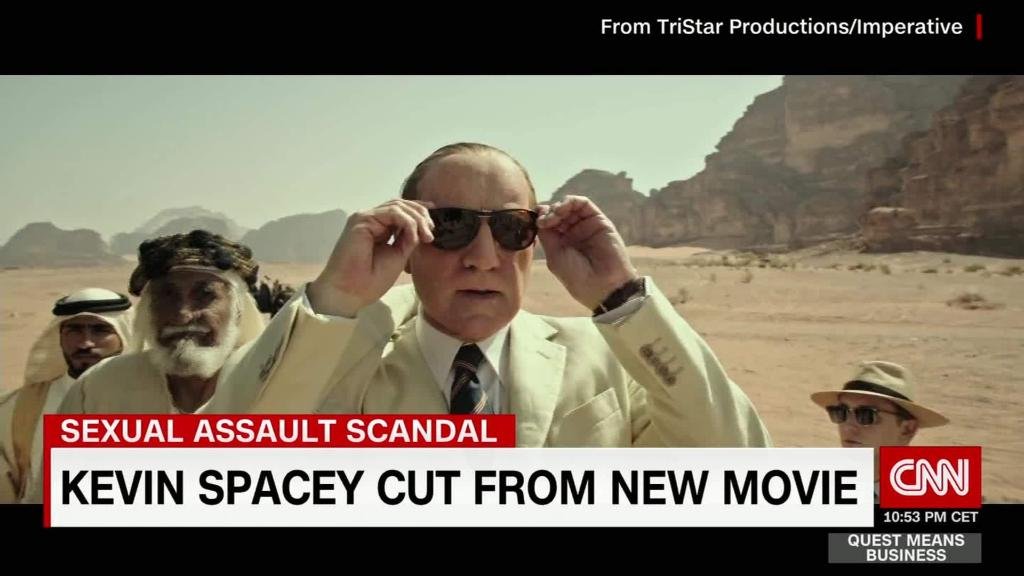 Kevin Spacey cut from new movie