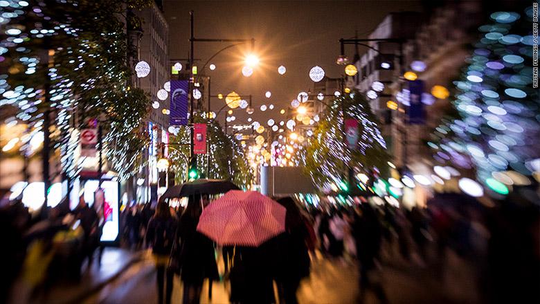uk christmas retail sales