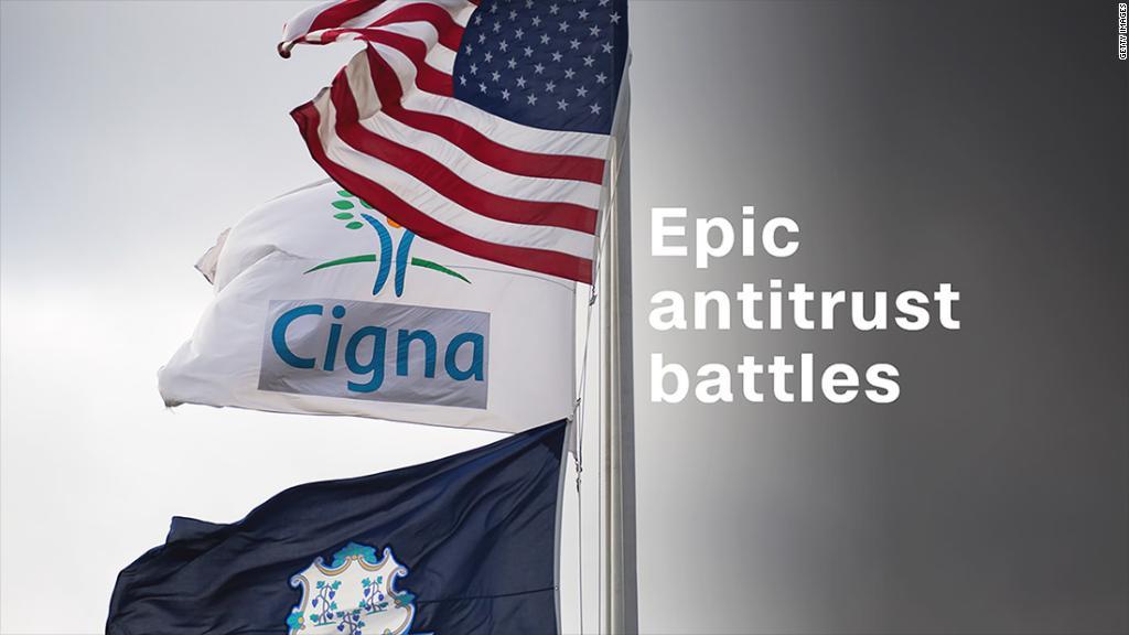 Epic antitrust battles in U.S. history
