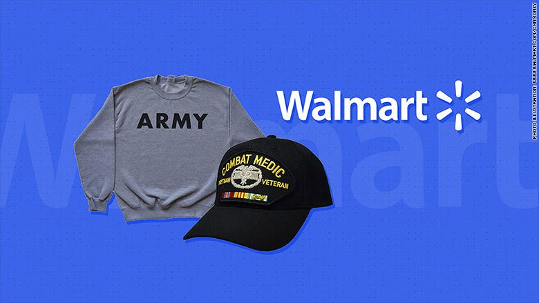 walmart military gear logo