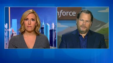 Salesforce CEO: Tax repatriation needs limits