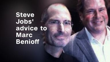 Steve Jobs gave Marc Benioff this advice, changed his life