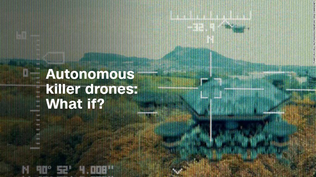 Fictional 'Slaughterbots' film warns of autonomous killer drones