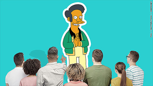 How Asians are overlooked, explained by 'Simpsons'
