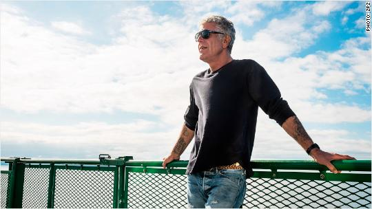 Bourdain: It's a town that likes talking about food