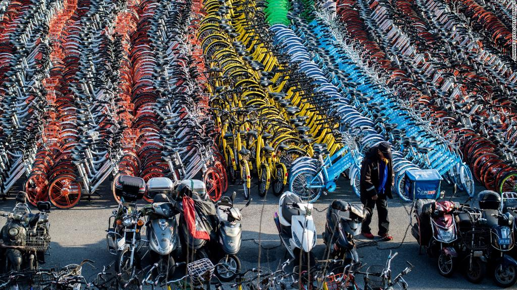 Bike sharing in China highlights hurdles of doing business