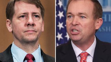 Trump likely to tap budget director Mulvaney as interim CFPB chief