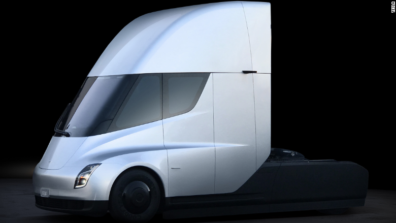 Tesla's truck, not out until 2019, already has big orders