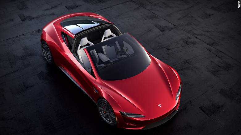 Quickest Cars In The World >> Tesla Roadster might fly