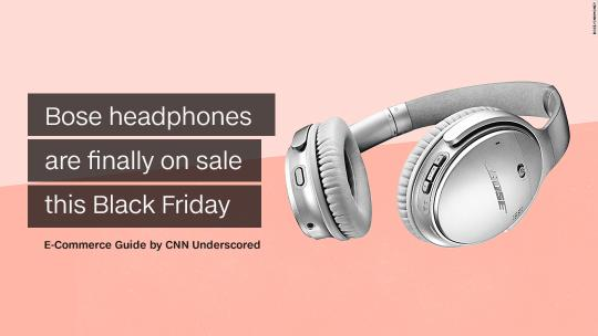 These Bose Headphones are finally on sale this Black Friday