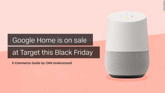 Google Home is on sale at Target this Black Friday
