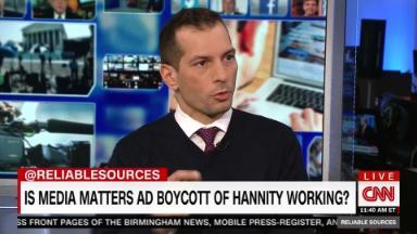 Carusone defends anti-Hannity ad boycott