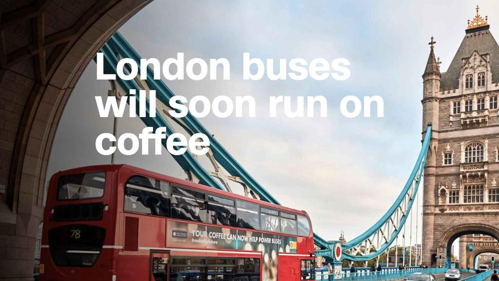 London Bus To Run On Fuel Made Of Coffee