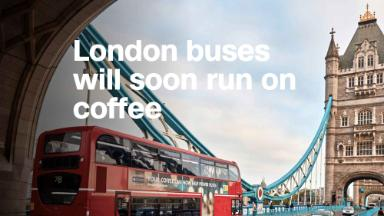 Startup will power London buses with coffee