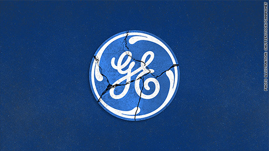 Everything is shrinking at GE except its massive debt