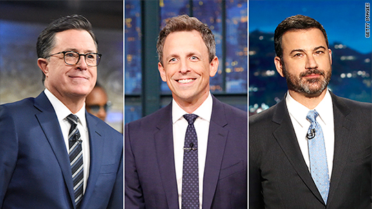 Has Trump changed late night TV permanently?