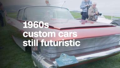 These 1960s custom cars scream retrofuturism