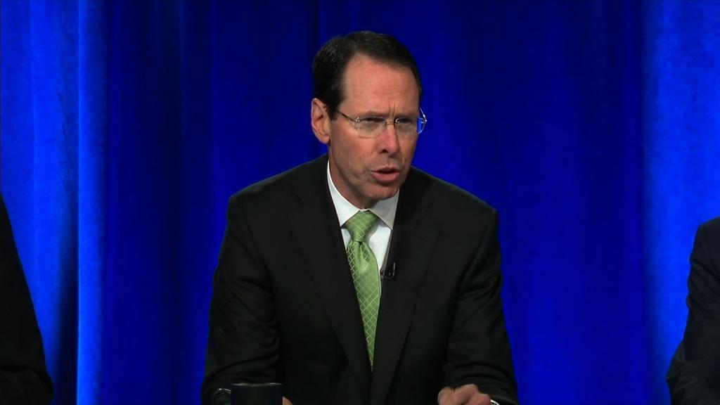 AT&T CEO responds to DOJ lawsuit