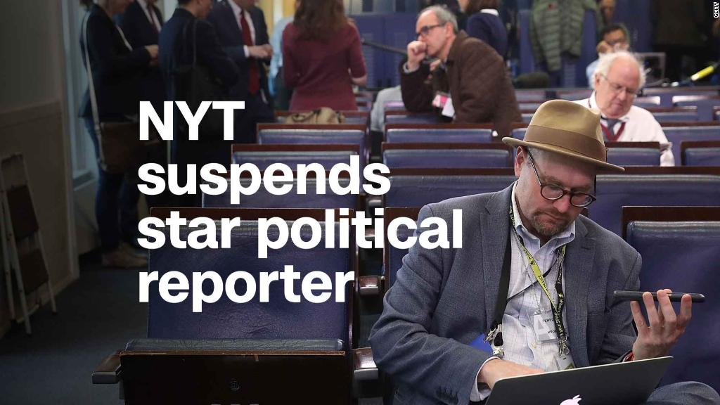 New York Times suspends star political reporter