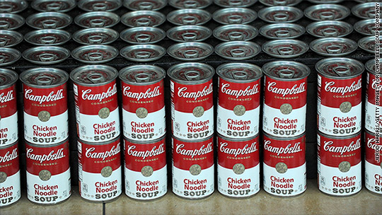 No soup for you? Campbell dips on poor sales