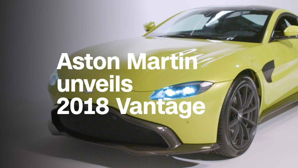 See Aston Martin's redesigned Vantage