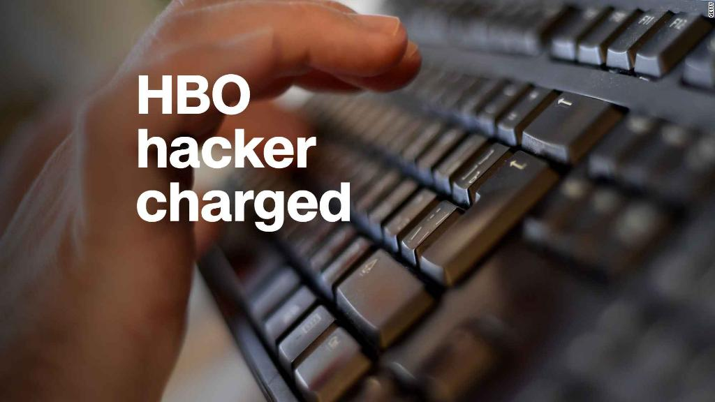 HBO hacker charged