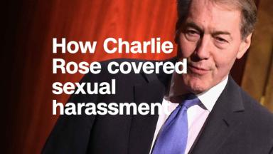 Watch how Charlie Rose covered sexual harassment before he was fired