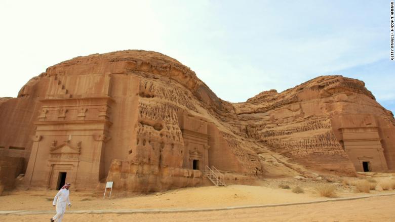 Saudi heritage site