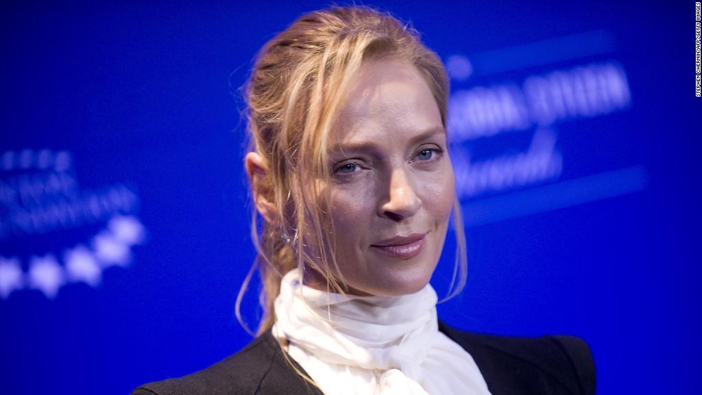 Uma Thurman turns anger on Weinstein