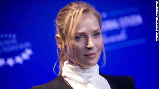 Uma Thurman turns anger on Weinstein in Insta post