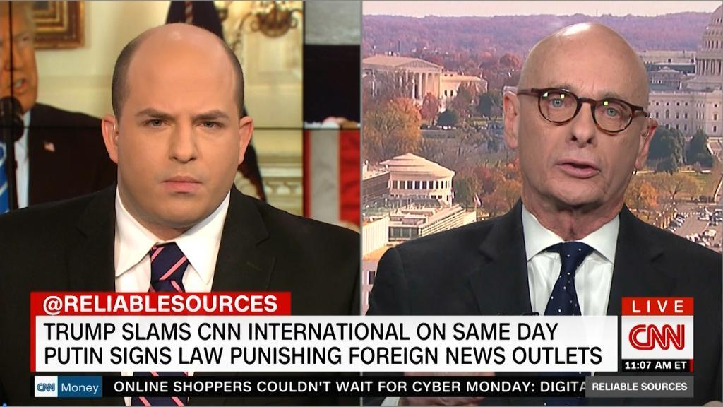 Journalists decry Trump's criticism of CNNI