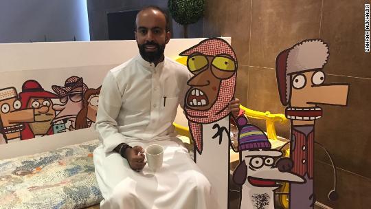 The studio behind the satirical Saudi cartoon millions are watching
