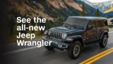 See the all-new Jeep Wrangler