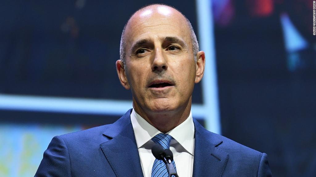 Watch how Matt Lauer covered sexual harassment