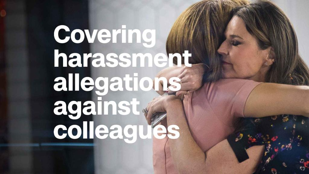 How female journalists covered colleagues' harassment scandals