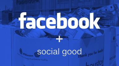 Facebook wants to be seen as a force for good