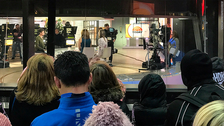 'We loved Matt Lauer': 'Today' show fans show up day after bombshell firing