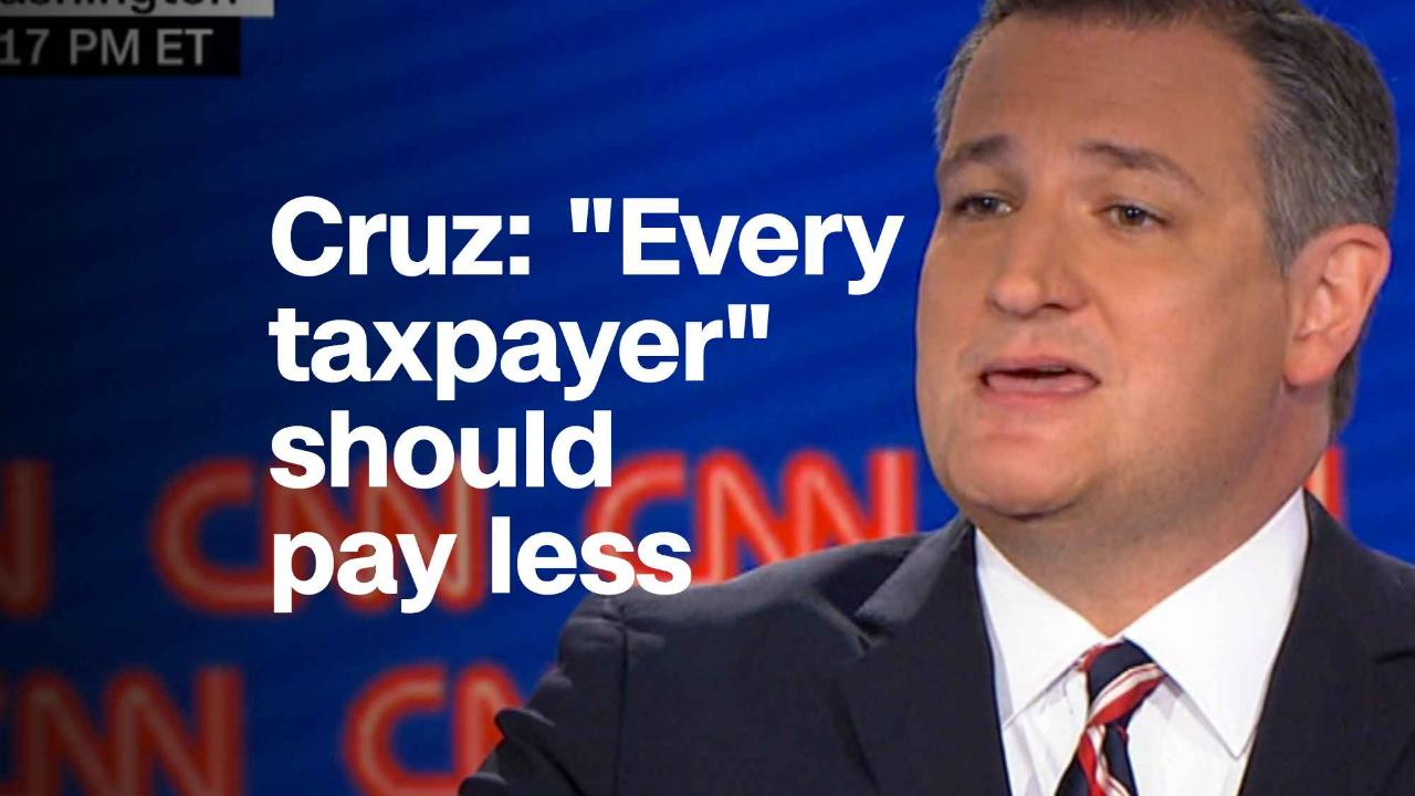 Ted Cruz Quotes Ted Cruz 'we Should Be Cutting Everyone's Taxes'  Video  Economy