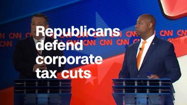 Republicans defend growing the deficit with corporate tax cuts