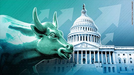 Stocks hit record highs on tax bill hopes