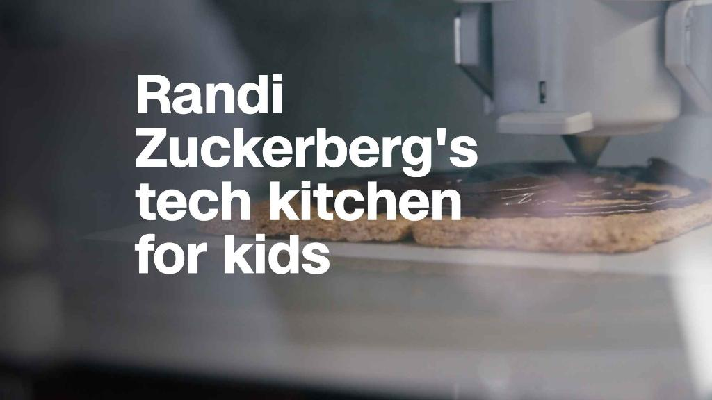 Randi Zuckerberg opens pop-up kitchen to get kids into tech