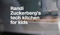 Randi Zuckerberg opens pop-up kitchen to get kids into tech