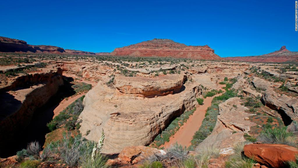Trump scales back Utah national monuments