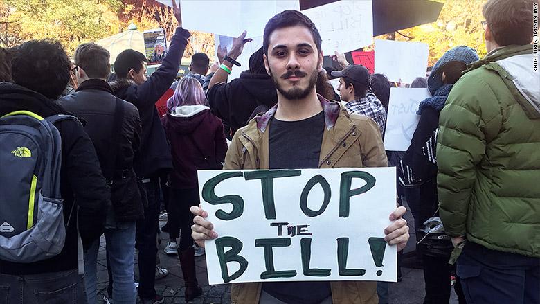 grad student tax protest 2