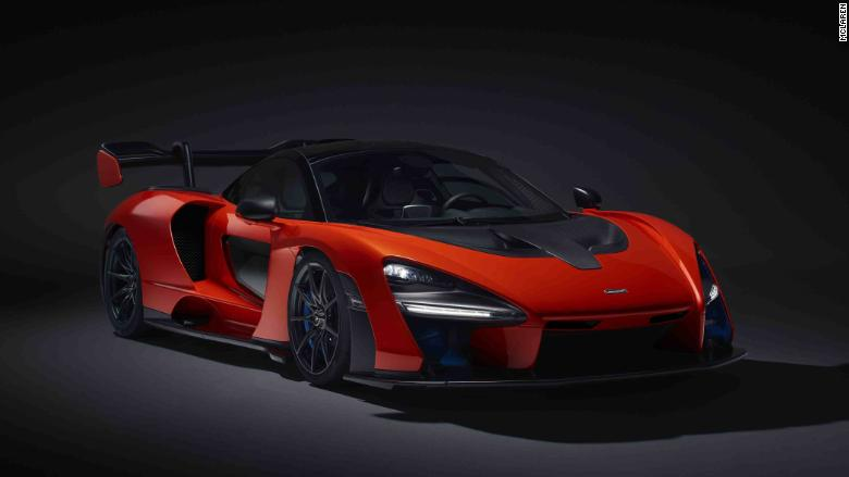 mclaren senna dark background