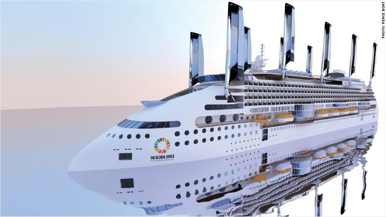 Ecoship The Worlds Greenest Cruise Ship Will Have Sails Dec - Cruise ships that allow dogs
