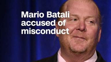 Mario Batali accused of sexual misconduct