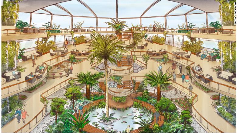 ecoship interior