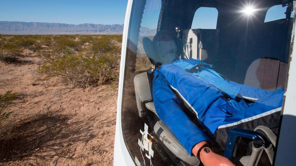 Blue Origin returns to flight with New Shepard launch